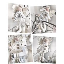 Angioletti in cotone assortiti da appendere