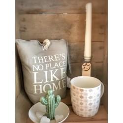 Piattino con cactus in ceramica