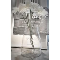 Vaso in vetro Flowers