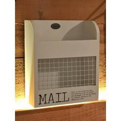 Porta corrispondenza Mailbox bianco 23 cm