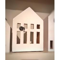 Casetta in legno porta tealight Olaf