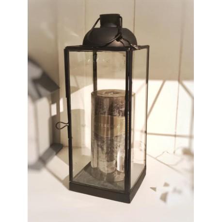 Lanterna Kent in metallo nera