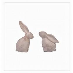 Coniglietto in cemento