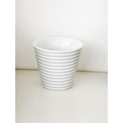 Espresso Cup thin stripes