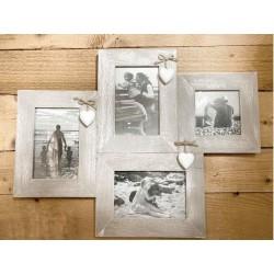 Portafoto in legno multiplo