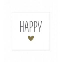 Tovaglioli carta Happy
