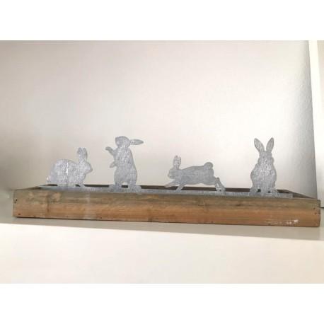 Decorazione conigli