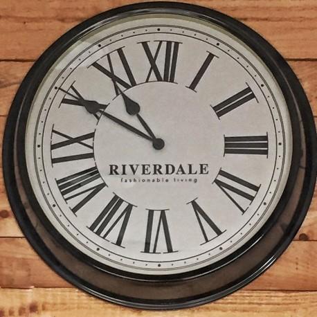 Orologio da parete Time nero