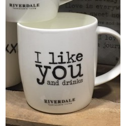 Mug I LIKE YOU bianca