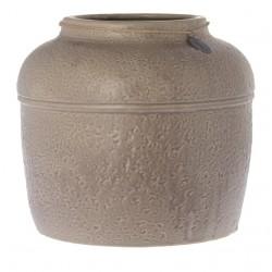 Vaso rotondo Vienne grigio 38 cm