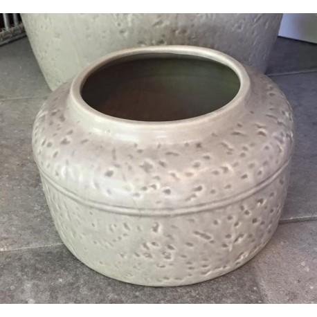 Vaso rotondo Vienne grigio 24 cm