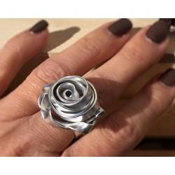 """Anello """"ROSA"""" color argento"""