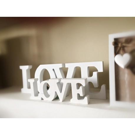 Scritta LOVE M
